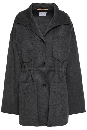 NANUSHKA Loba wool and silk-blend felt coat