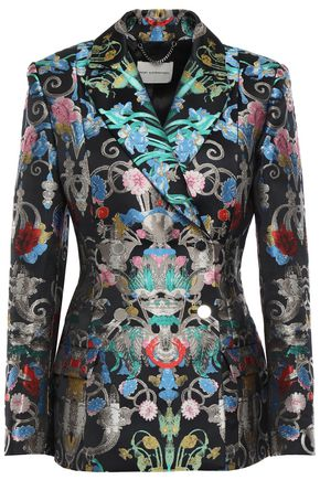 MARY KATRANTZOU Brocade blazer
