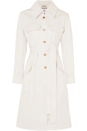 ACNE STUDIOS Olesia cotton-blend twill trench coat