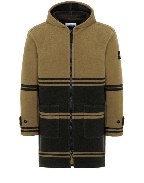 Mid-length jacket 71254 PANNO JACQUARD STONE ISLAND - 0