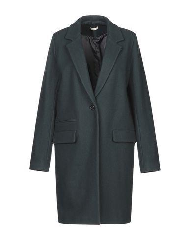 Купить Женское пальто или плащ SESSUN темно-зеленого цвета