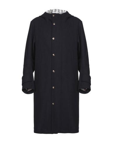 Купить Легкое пальто темно-синего цвета