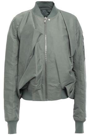 RICK OWENS Draped shell bomber jacket