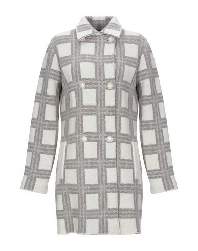 Фото - Женское пальто или плащ ALBARENA светло-серого цвета