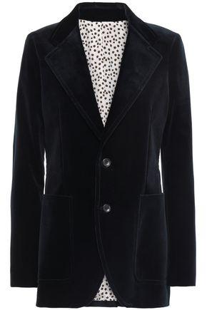 JOSEPH Albert cotton-blend velvet blazer