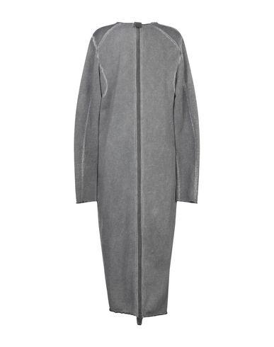 Фото 2 - Легкое пальто серого цвета