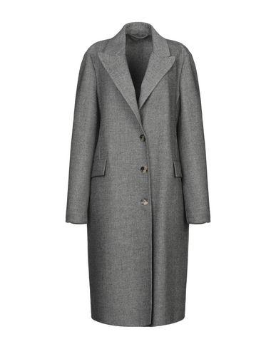 Купить Женское пальто или плащ  серого цвета