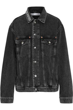 IRO Pursuit embroidered denim jacket