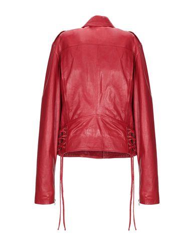 Фото 2 - Женскую куртку ES TES красного цвета