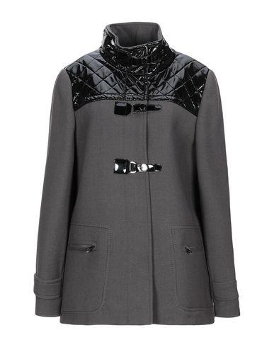 Купить Женское пальто или плащ  свинцово-серого цвета