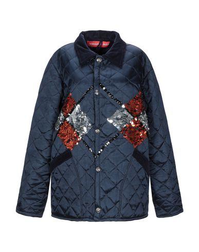 Купить Женскую куртку VIRGINIA BIZZI темно-синего цвета