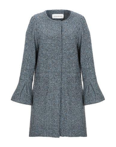 Купить Женское пальто или плащ DUEMINUTI небесно-голубого цвета