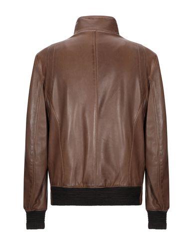 Фото 2 - Мужскую куртку DELAN коричневого цвета