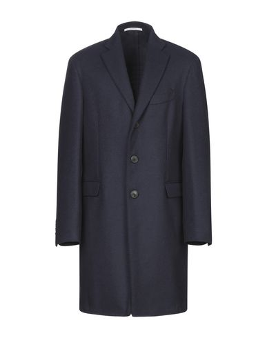 Купить Мужское пальто или плащ AGLINI темно-синего цвета