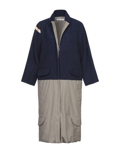 Фото - Женское пальто или плащ W ATE R темно-синего цвета