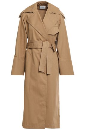 VINCE. Cotton-gabardine trench coat