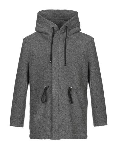 Купить Мужское пальто или плащ STILOSOPHY INDUSTRY серого цвета
