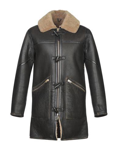 Купить Мужское пальто или плащ SCHOTT черного цвета