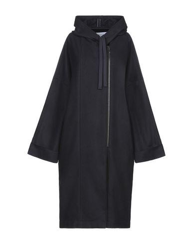 Купить Женское пальто или плащ OPPORTUNO темно-синего цвета