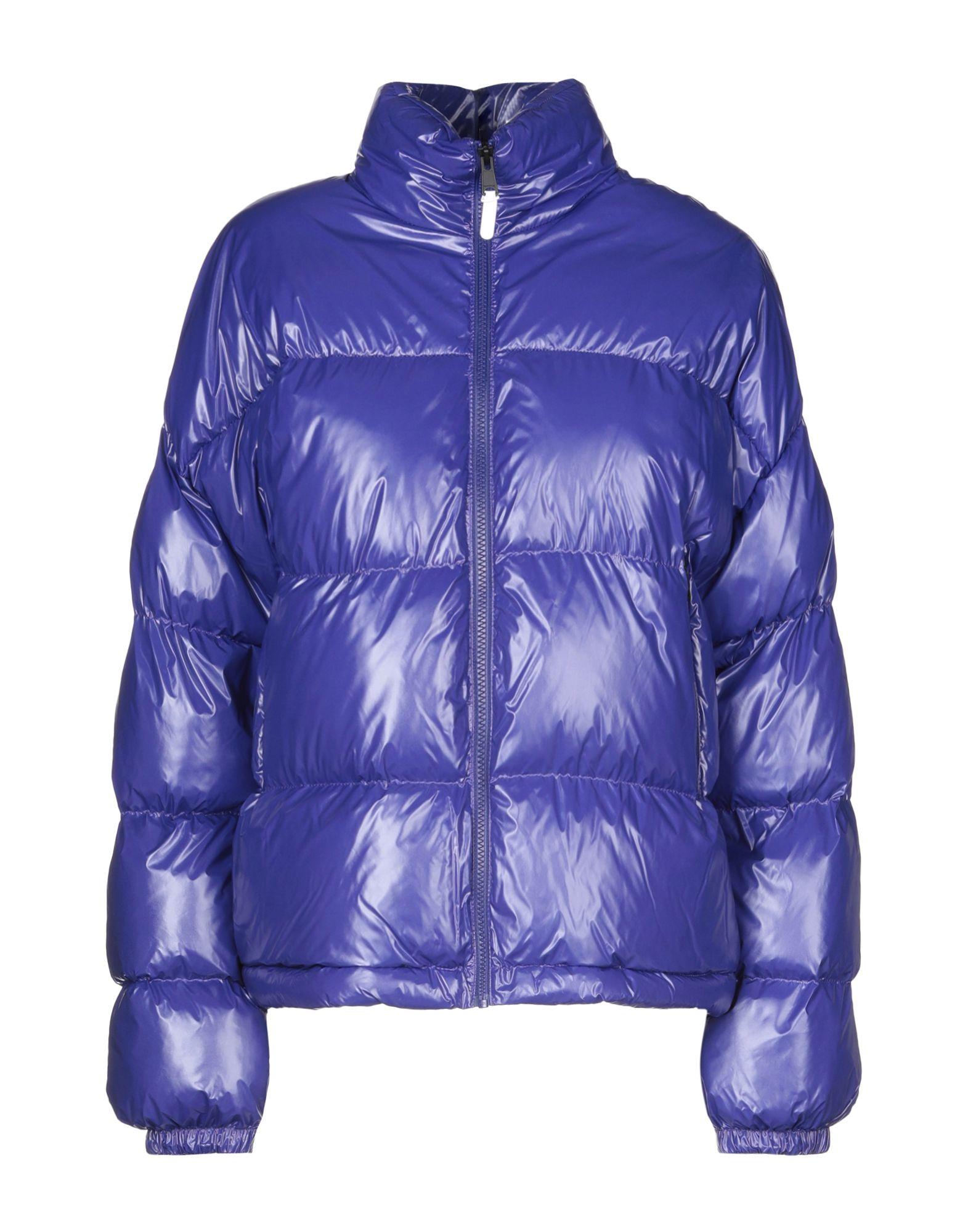 YOOX.COM(ユークス)《セール開催中》NAPAPIJRI レディース 合成繊維中綿アウター ブルー XS ナイロン 100% ART W SL SHINY