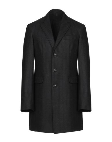 Купить Мужское пальто или плащ  черного цвета