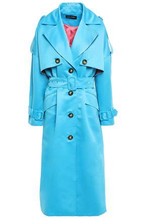 ANNA OCTOBER Satin trench coat