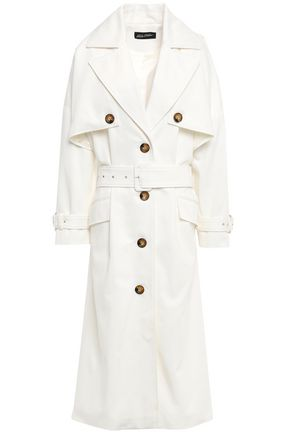 ANNA OCTOBER Cotton-twill trench coat