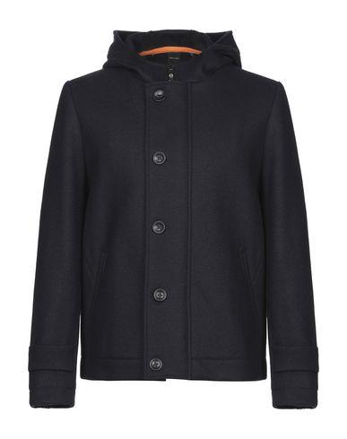 Фото - Мужское пальто или плащ DISTRETTO 12 темно-синего цвета