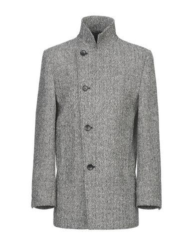 Фото - Мужское пальто или плащ DANIELE ALESSANDRINI HOMME черного цвета