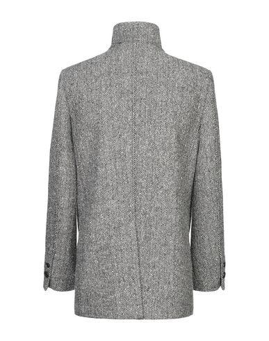 Фото 2 - Мужское пальто или плащ DANIELE ALESSANDRINI HOMME черного цвета