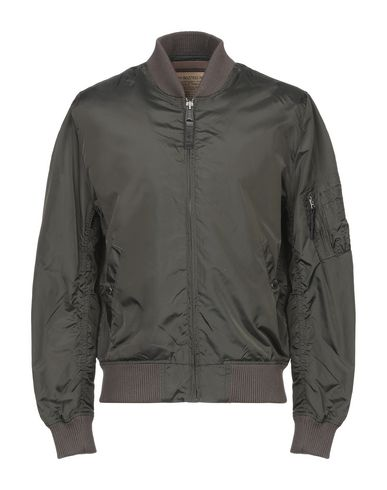 Купить Мужскую куртку ALPHA INDUSTRIES INC. цвет зеленый-милитари