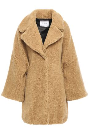 AINEA Oversized faux shearling coat