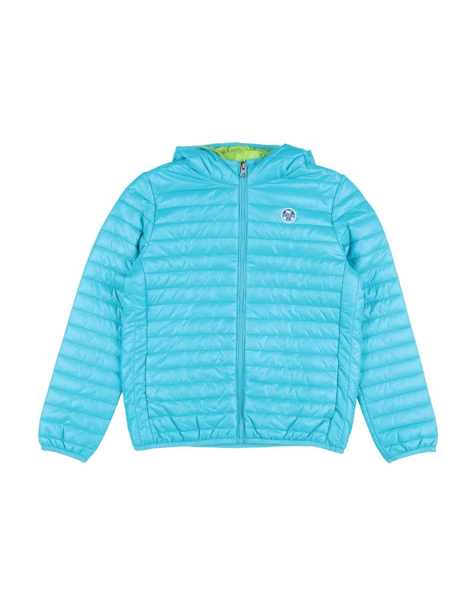 YOOX.COM(ユークス)《セール開催中》NORTH SAILS ボーイズ 3-8 歳 合成繊維中綿アウター ターコイズブルー 6 ナイロン 100%