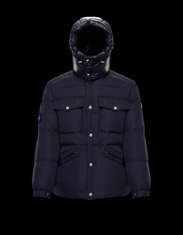 VILBERT Dark blue Category Parka Man
