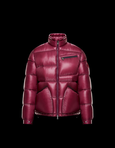 COSTES Purple Down Jackets Man