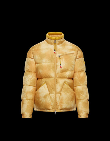COSTES Yellow Down Jackets Man