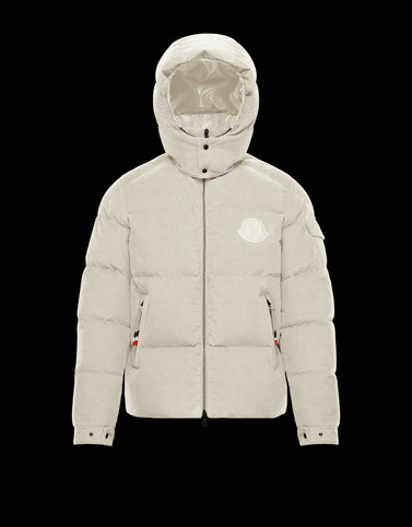 FRARES Cream Down Jackets Man