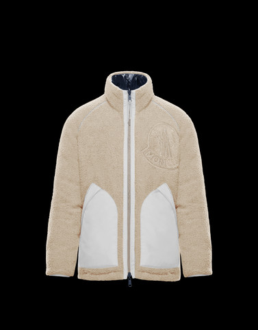 CHALON Cream Down Jackets Man
