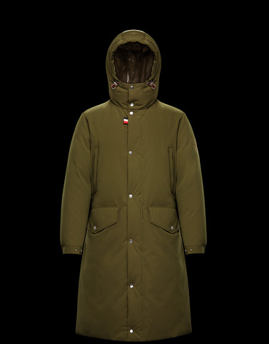 CHABRE Green Jackets & Coats
