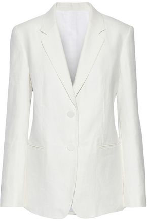 HELMUT LANG Hemp and cotton-blend blazer
