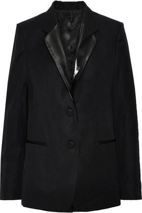 HELMUT LANG Wool-twill blazer