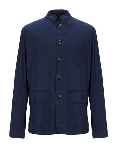 Купить Pубашка от OLIVER SPENCER темно-синего цвета