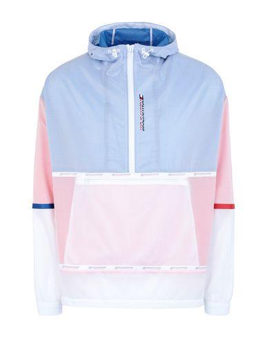 Купить Мужскую куртку TOMMY SPORT лазурного цвета