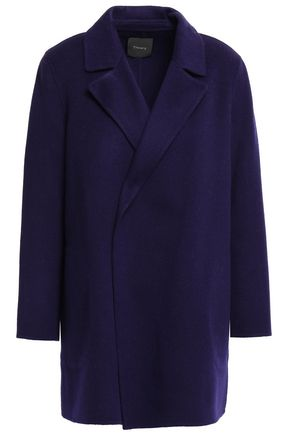 THEORY Wool and cashmere-blend felt coat