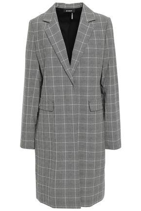 DKNY Checked stretch-woven blazer