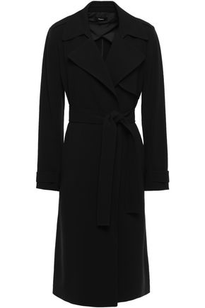 THEORY Oaklene crepe de chine trench coat