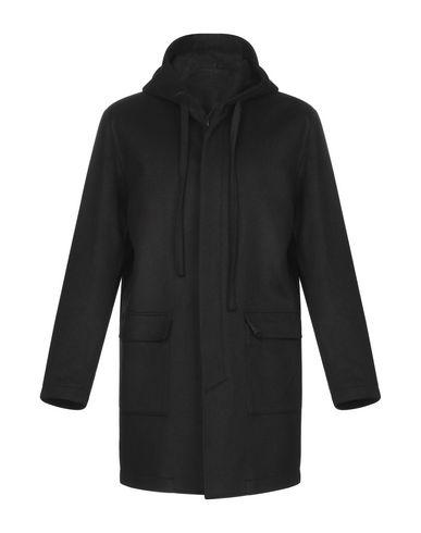 Купить Мужское пальто или плащ LE QARANT черного цвета