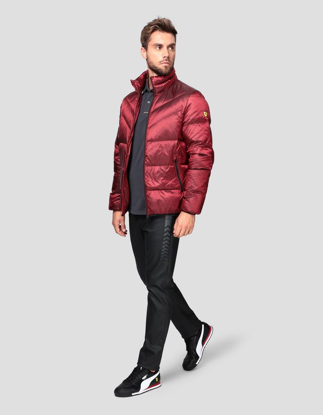 Scuderia Ferrari Online Store - Men's jacket with REAL DOWN fill -