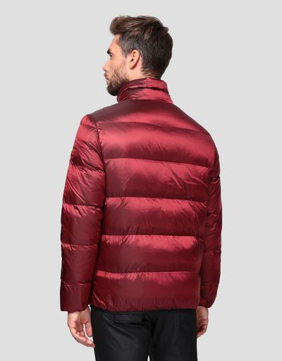 Padded men's jacket in REAL DOWN