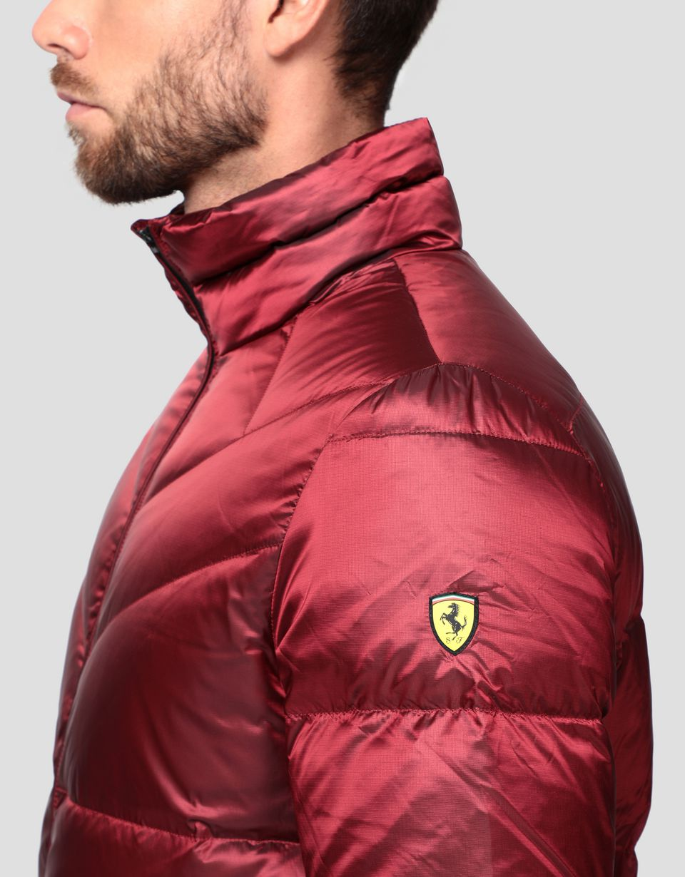 Scuderia Ferrari Online Store - Men's jacket with REAL DOWN fill - Down Jackets